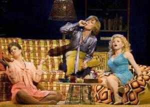 "The gals of ""9 to 5"": Stephanie J. Block, Allison Janney, and Megan Hilty"
